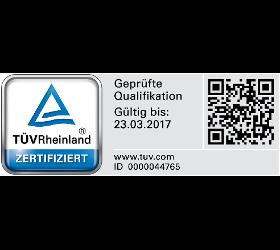TÜV-zertifizierte Sachverständige für Bauwerksabdichtung
