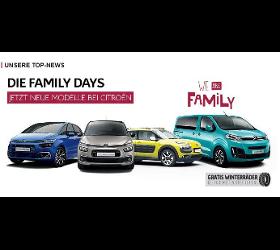 Citroen Familydays - Die neuen Modelle bei Citroen
