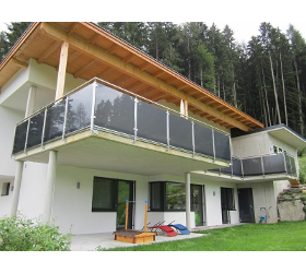 Balkonverglasung - Stiegengeländer
