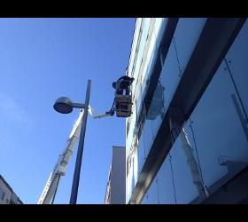 Glasbruch in Wien