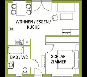 Betreutes Wohnen Burgenland Wohnung Typ A