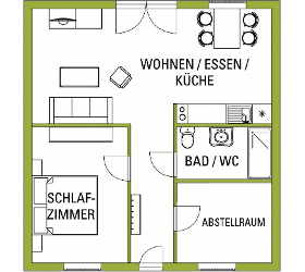 Betreutes Wohnen Burgenland Wohnung Typ B