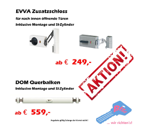 AKTION Zusatz- und Balkenschloss AKTION