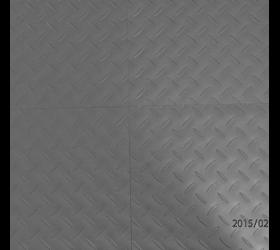 Vinyl Design Klebeplanken 2mm dunkelgrau Riffelblechmuster