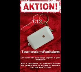 AKTION! Taschenalarm Panikalarm Personenalarm