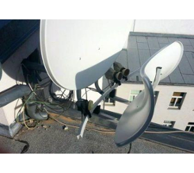 Satellitenanlagen und Antennenbau