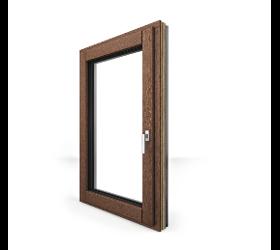 Holz/Alufenster
