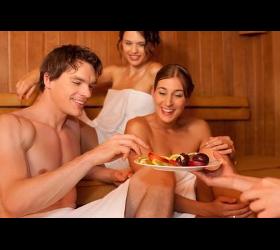 Sauna und Wellness im Hotel Hahn