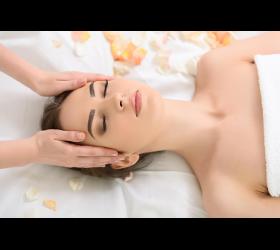 Aromamassage für das Gesicht