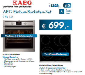AEG Backofen