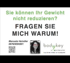 Bodykey-persönlicher Schlüssel zu optimalem Wohlbefinden