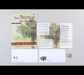Postkarte & Briefmarke