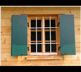 Kastenfenster auch in Lärche