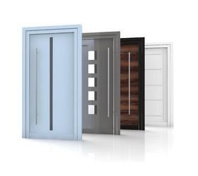 Aluminiumeingangstüren