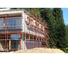 Betonbodensanierung Bitumenabdichtung Dämmfassaden Einreichpläne