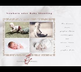 Newbornfots und Babyfotos