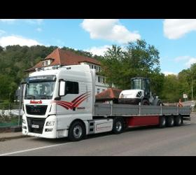 Bösch Transporte Sattel