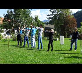Aktiv Zentrum Bregenzerwald Bogenschießen Adventure Sports canyoning vorarlberg lutz schmelzinger