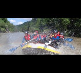 Aktiv Zentrum Bregenzerwald Rafting Adventure Sports Lutz Schmelzinger canyoning vorarlberg