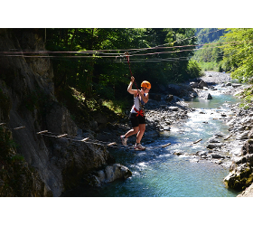 Aqua Hochseilgarten Aktiv Zentrum Bregenzerwald Adventure Sports canyoning vorarlberg lutz schmelzin
