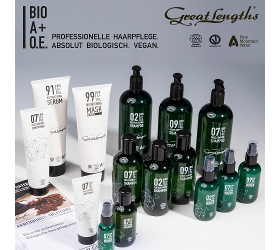BIO A+O.E. Haarpflege-Serie, 100% biologisch und vegan