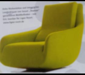 Sessel, Möbelstoff