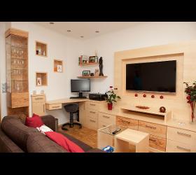 Wohntische Wohnungstüren Wohnzimmereinrichtung Wohnzimmerverbau