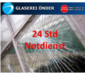 Glas Reparatur - 24 Std. Notdienst