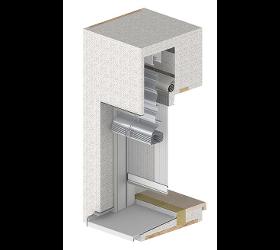 Fenstereinbau durch Leibungssystem TRAV frame