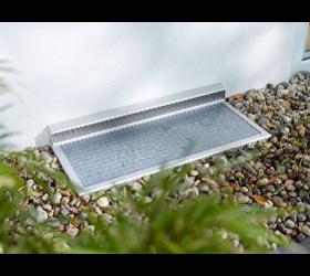 Lichtschacht RESi bei Insektenschutz Nesensohn