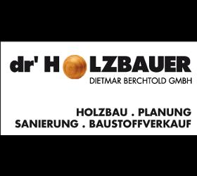 dr' Holzbauer Dietmar Berchtold GmbH Wälderhaus, Holzhausbau