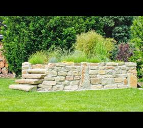 Edle Steinmauern von Ing. Gerold Reischl Gartengestaltung GmbH