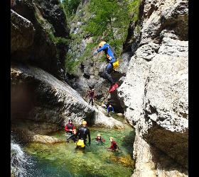 Canyoning Strubklamm