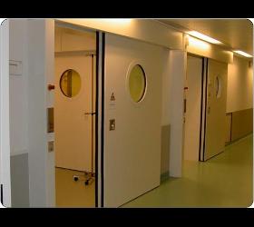 Strahlenschutztüren