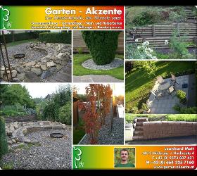 Garten - Akzente Leonhard Matt Baumpflege, Baumfällung, Holzarbeiten, Steinarbeiten, Steingärten