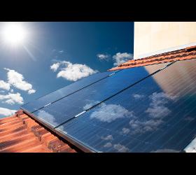 Solaranlage und Photovoltaikanlage
