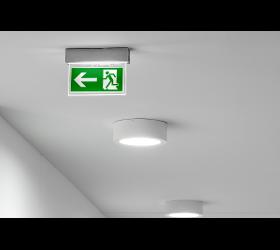 Notwegsbeleuchtung - Installation