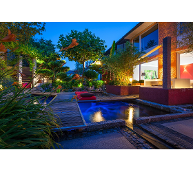 Gartenbeleuchtung - Installation