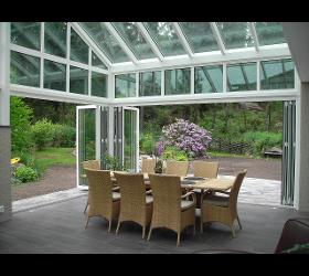 Wintergärten, Balkon- und Terrassenverglasungen