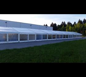Klassische Zeltbauten - Giebelzelte