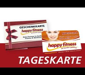 HAPPY FITNESS GESCHENKKARTE
