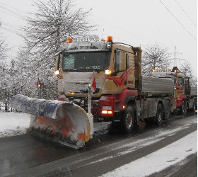 Schneeräumung Winterdienst