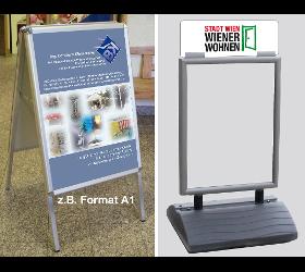 Plakatständer, A1, Kundenstopper, Posterhalter, Posterständer