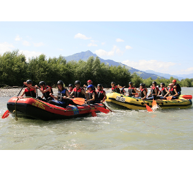 River Rafting Sommer