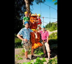 Hornpark Kletterwald Sommer