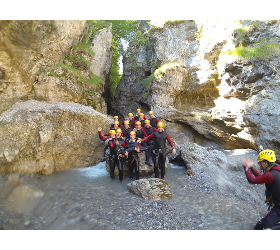 Canyoning Sommer