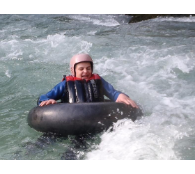 Abenteuer Tubing Sommer