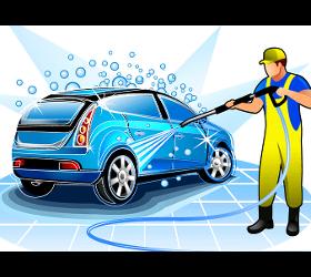 Autowäsche- und Reinigung