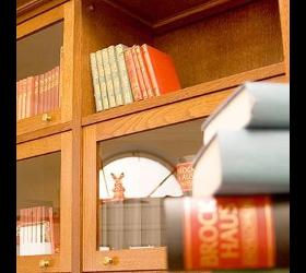 Amerikanische Bücherschränke