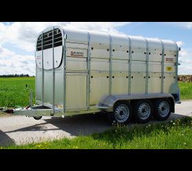 Anhänger zum Viehtransport - Viehtransporter - Viehanhänger